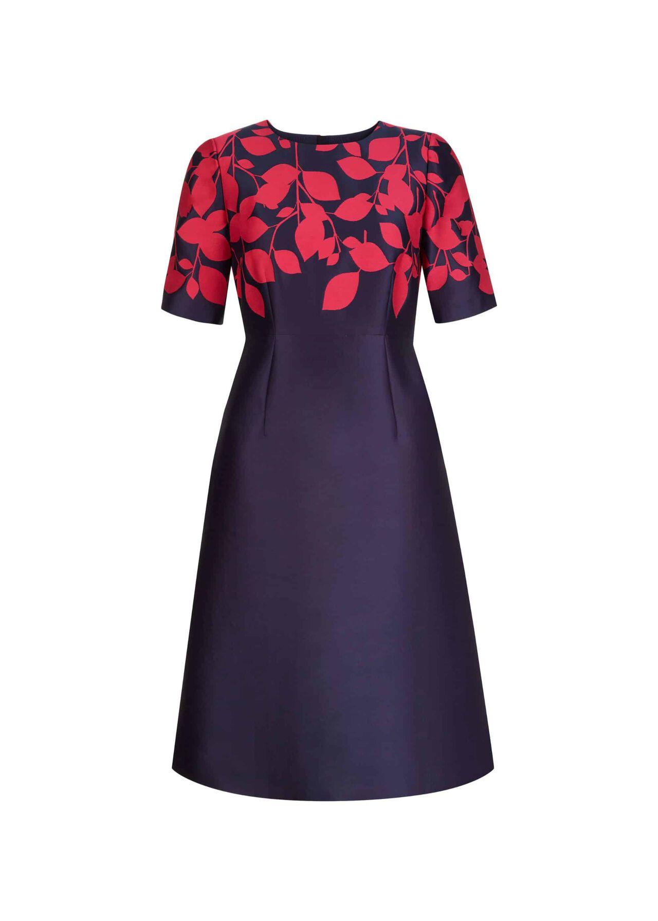Isabella Dress Midnight Cerise