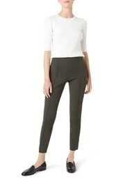 Adrianna trousers With Stretch, Khaki, hi-res