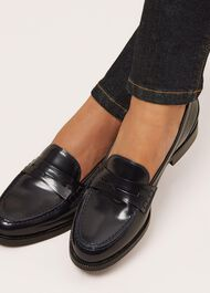 Freya Loafer, Navy, hi-res