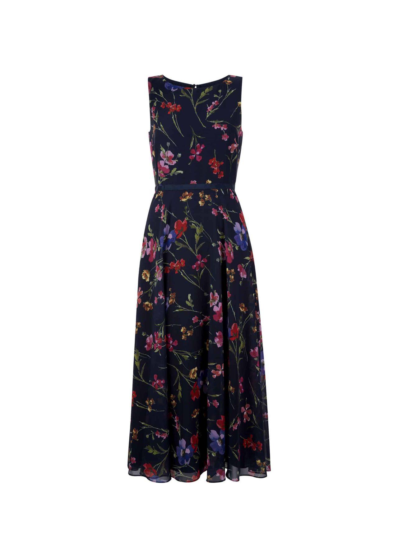 Carly Dress Navy Multi