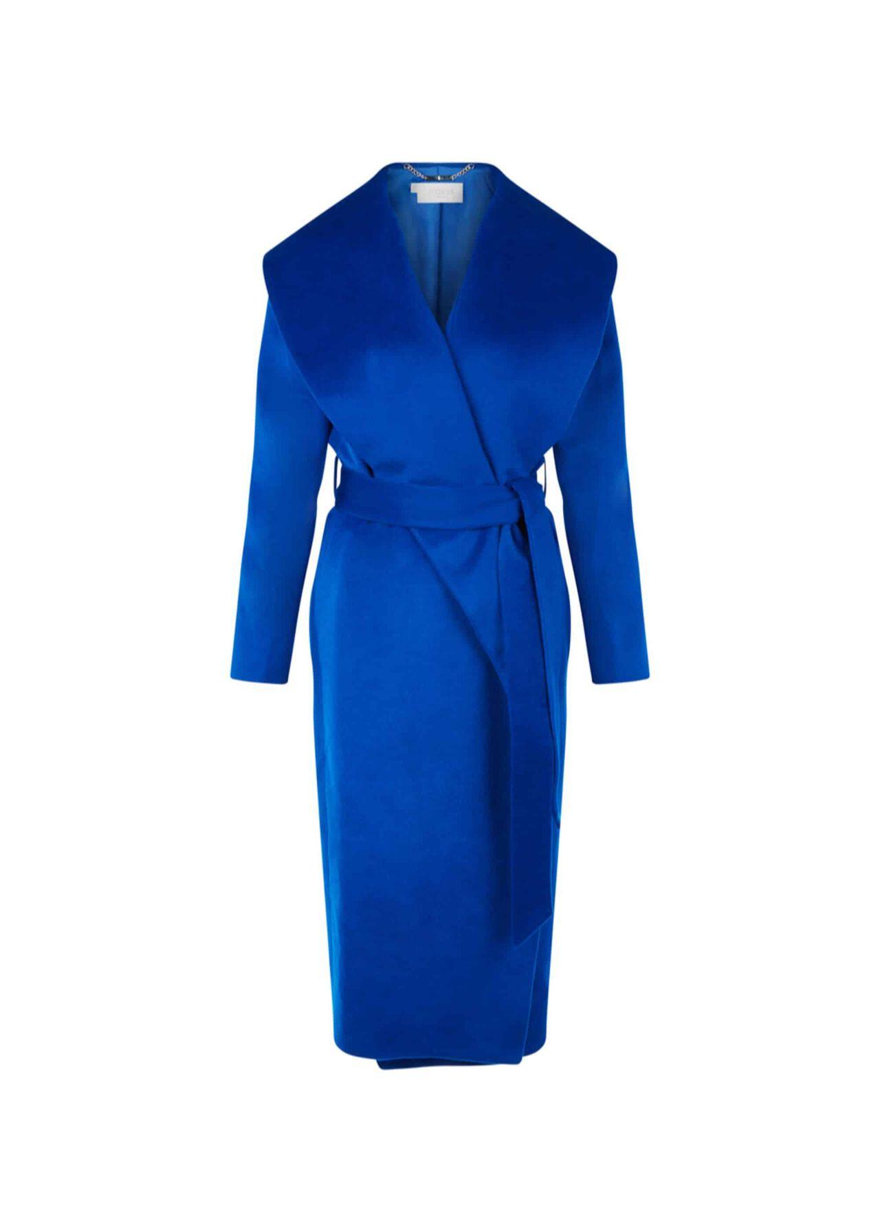 Elena Wool Coat Cobalt