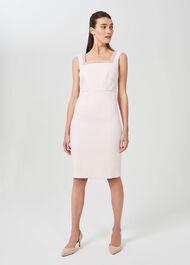 Miranda Shift Beaded Dress, Pink, hi-res