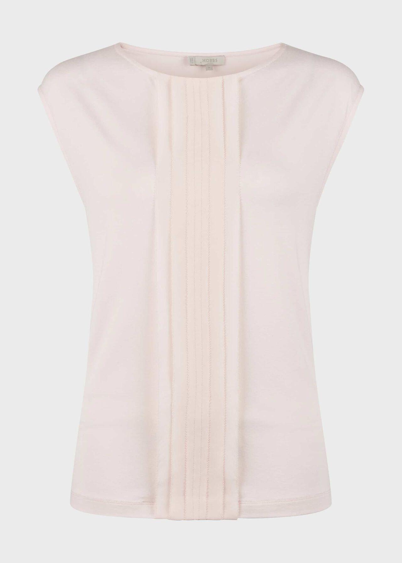 Urma Jersey Top Pale Pink
