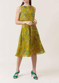 Ember Dress, Chartreuse Mlt, hi-res