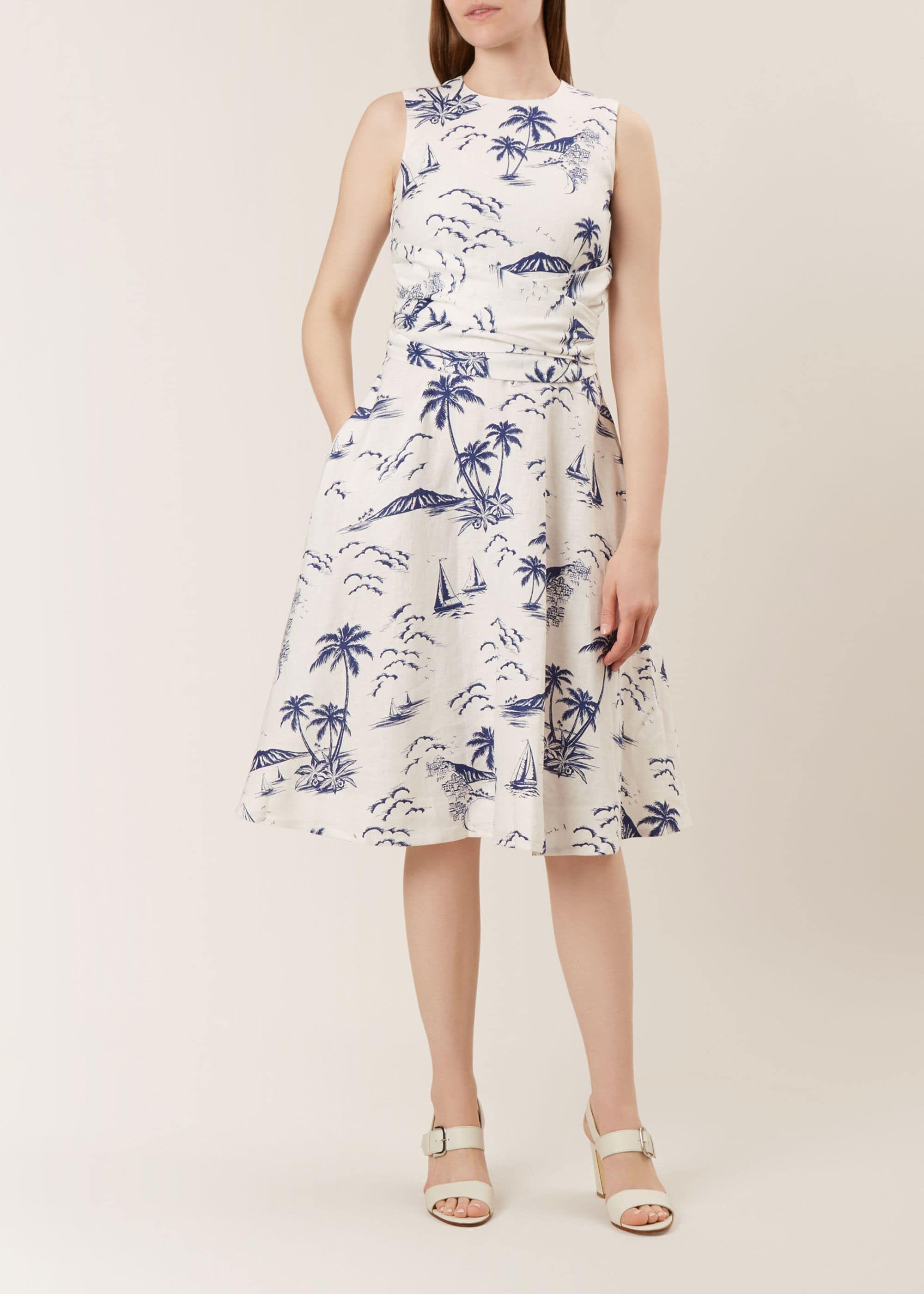 Twitchill Linen Dress