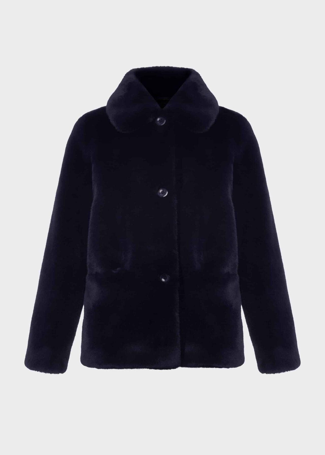 Monique Fur Coat Midnight