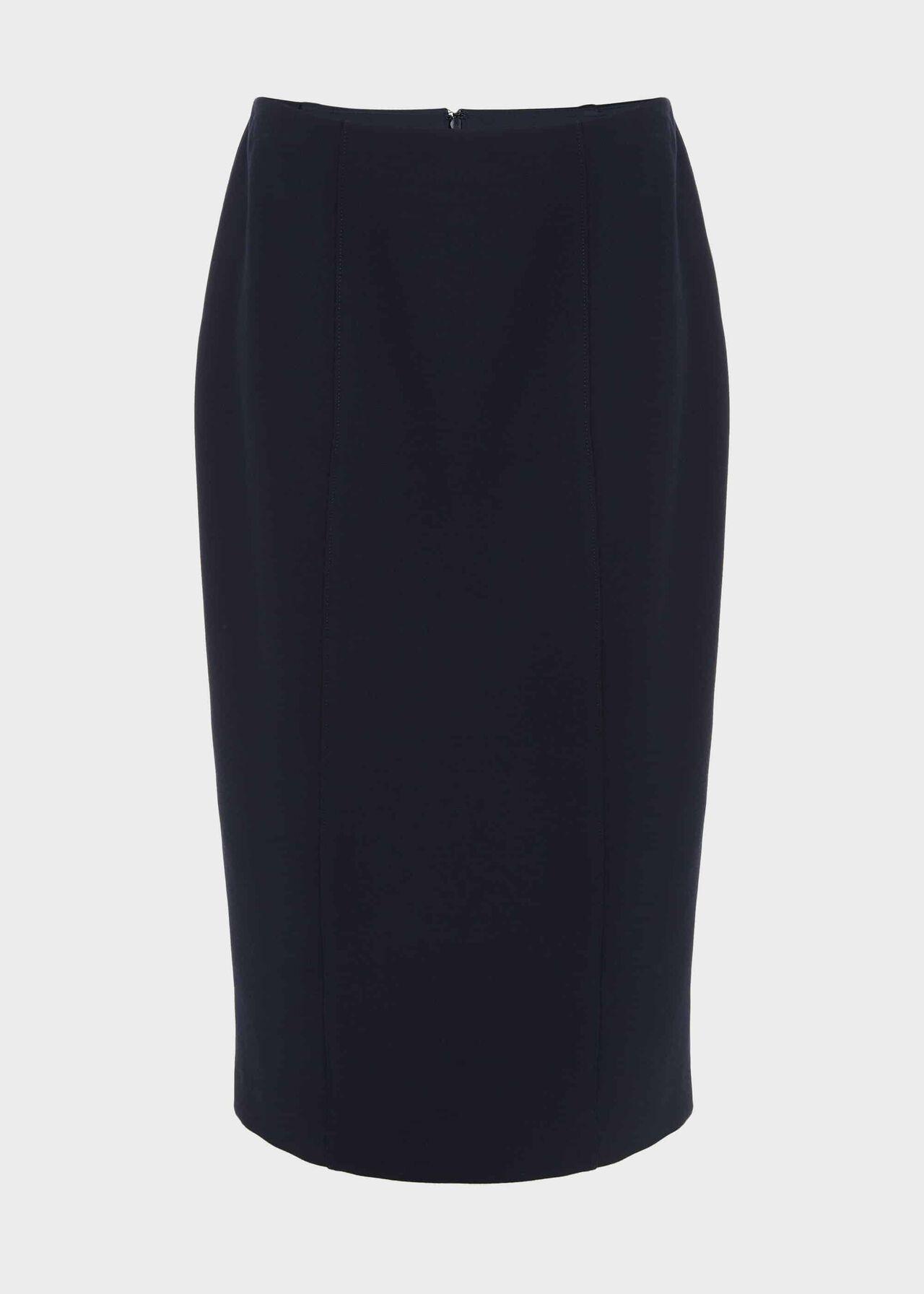 Beatrice Pencil Skirt Navy