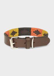 Leather Dog Collar, Multi, hi-res