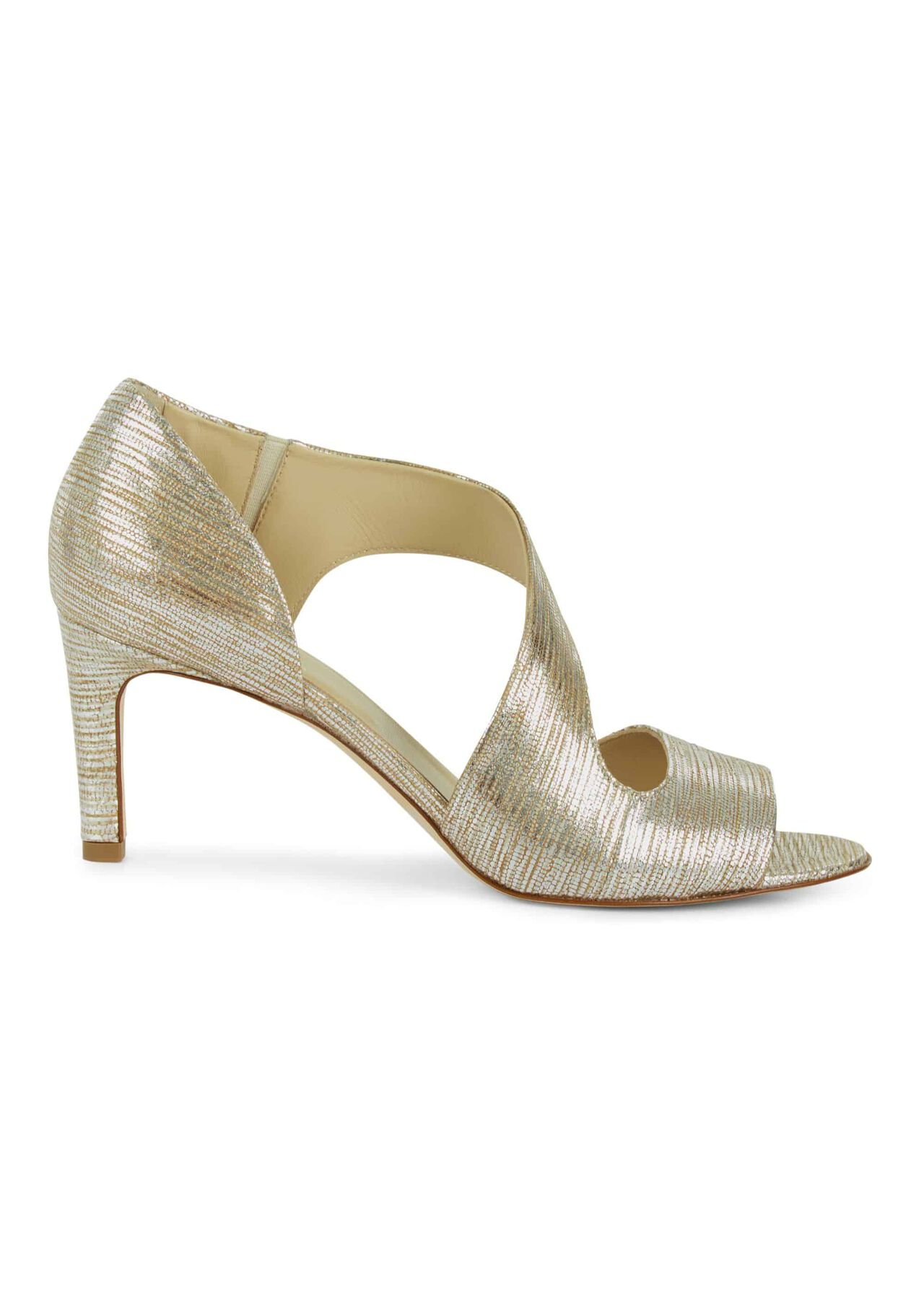 Lexi Sandal Gold Metallic