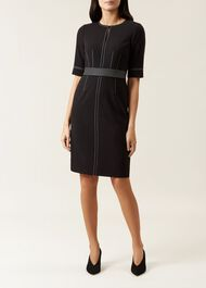 Faith Dress, Black, hi-res