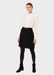 Bonnie Skirt, Black, hi-res