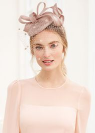 Camilla Fascinator, Blush, hi-res