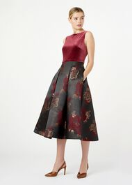 Belle Dress, Plum Black, hi-res
