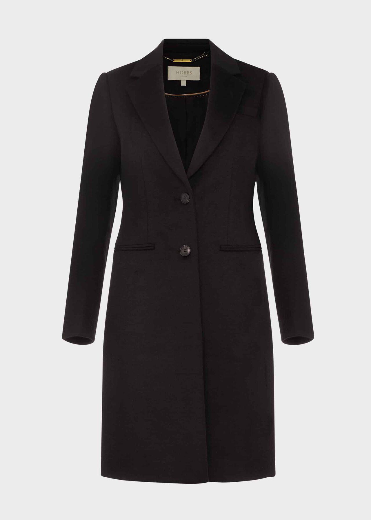 Petite Tilda Wool Coat Black