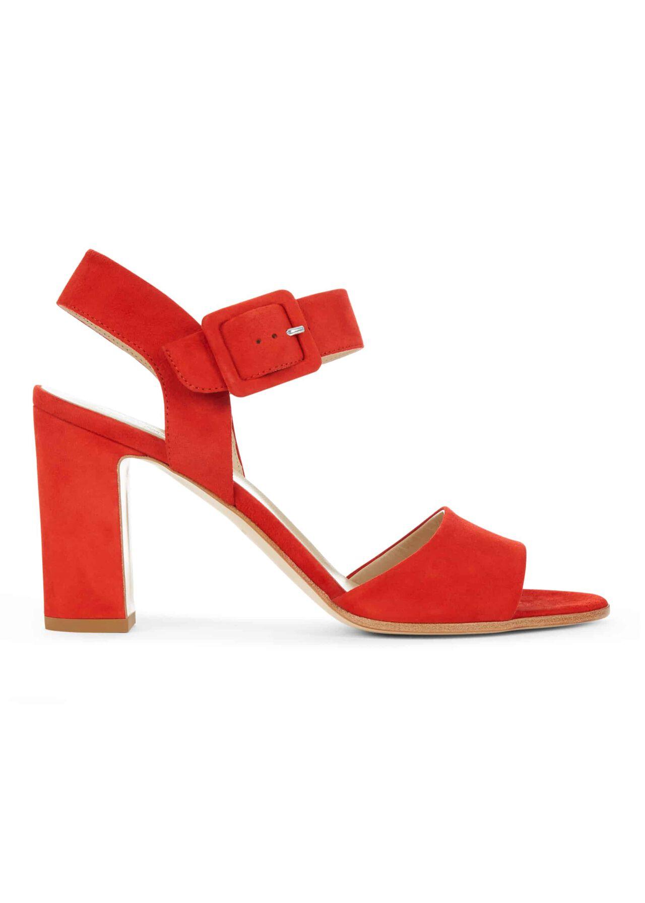 Rhian Sandal Orange Red