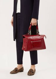 Highbridge Small Work Bag, Red, hi-res