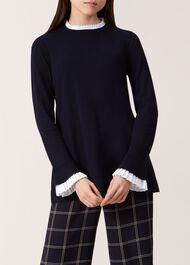 Kayla Sweater, Navy, hi-res