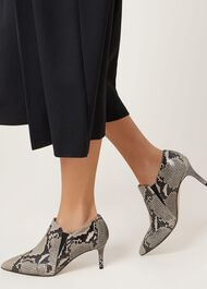 Sadie Chelsea Shoe Boot, Snake, hi-res