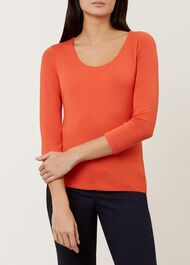 Daisy Top, Burnt Orange, hi-res