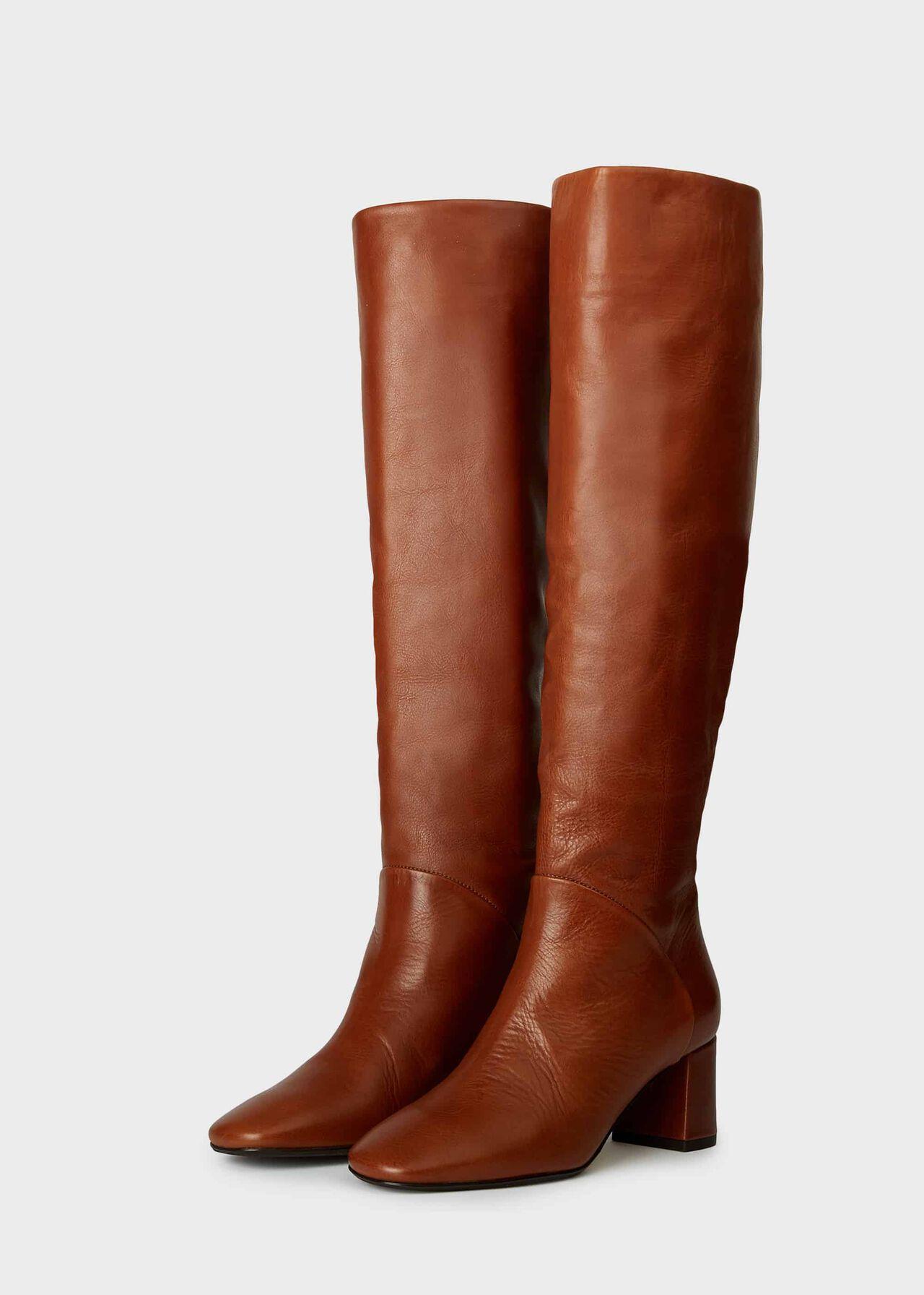 Imogen Knee Boot Tan
