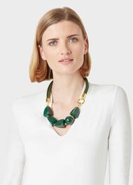 Olive Necklace, Clover Green, hi-res