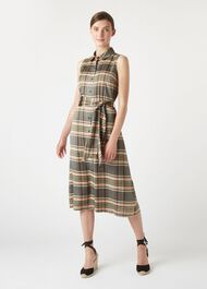 Isadora Dress, Peat Multi, hi-res