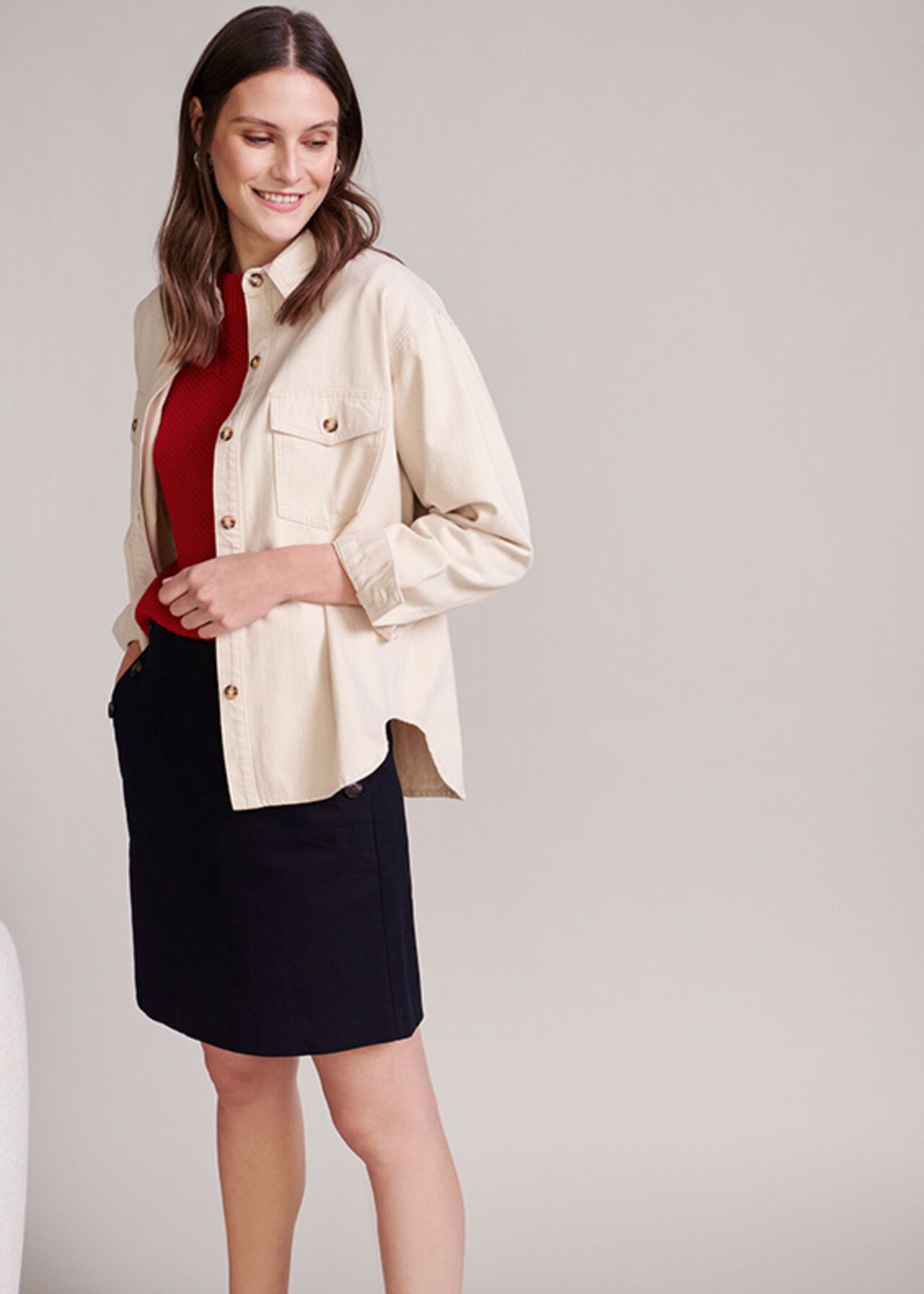 The Hensely Shirt Jacket Outfit, , hi-res