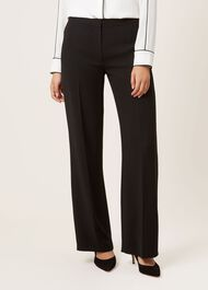 Daniella Trousers, Black, hi-res