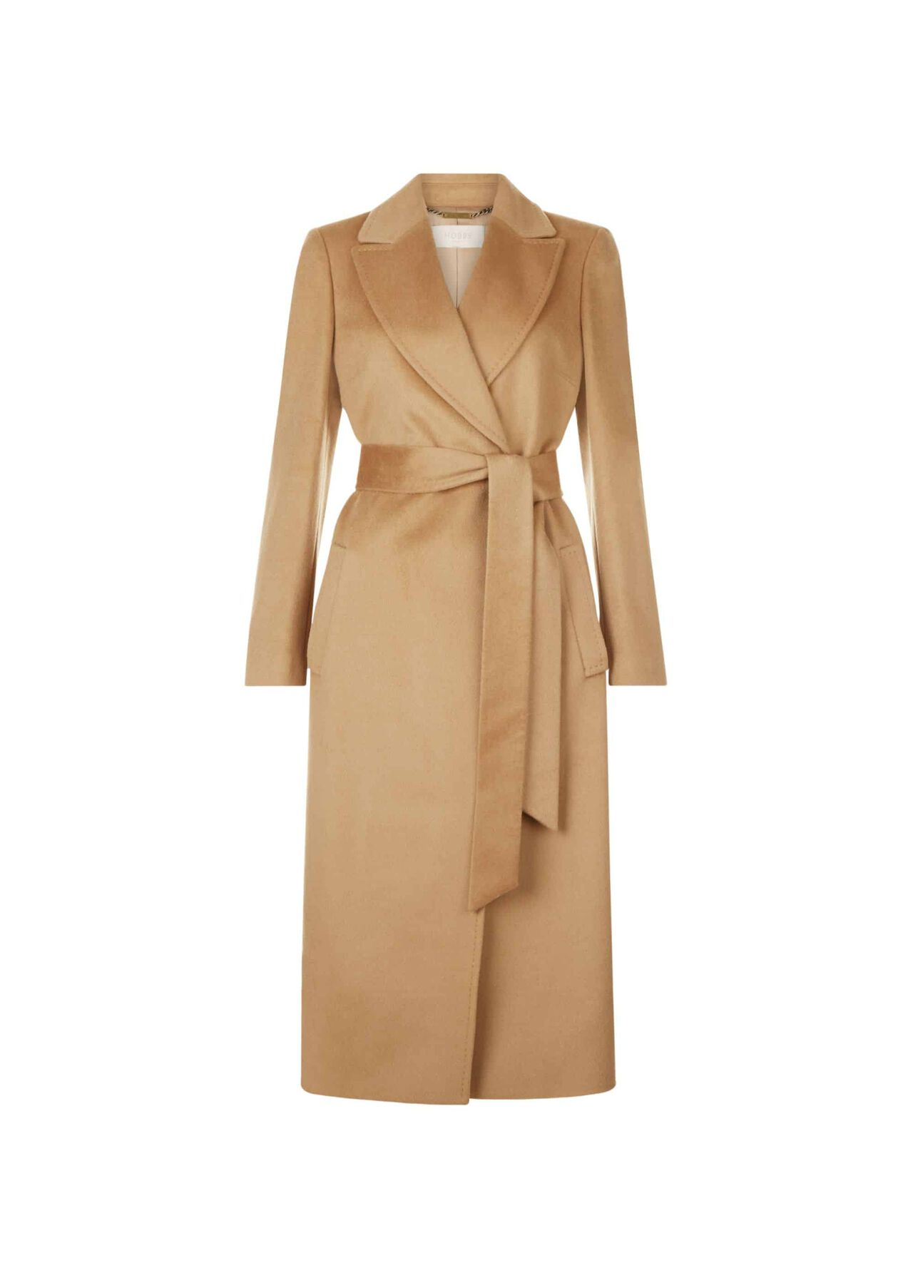 Olivia Wool Coat Camel