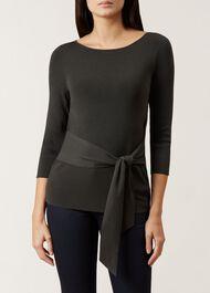 Gaby Sweater, Khaki, hi-res