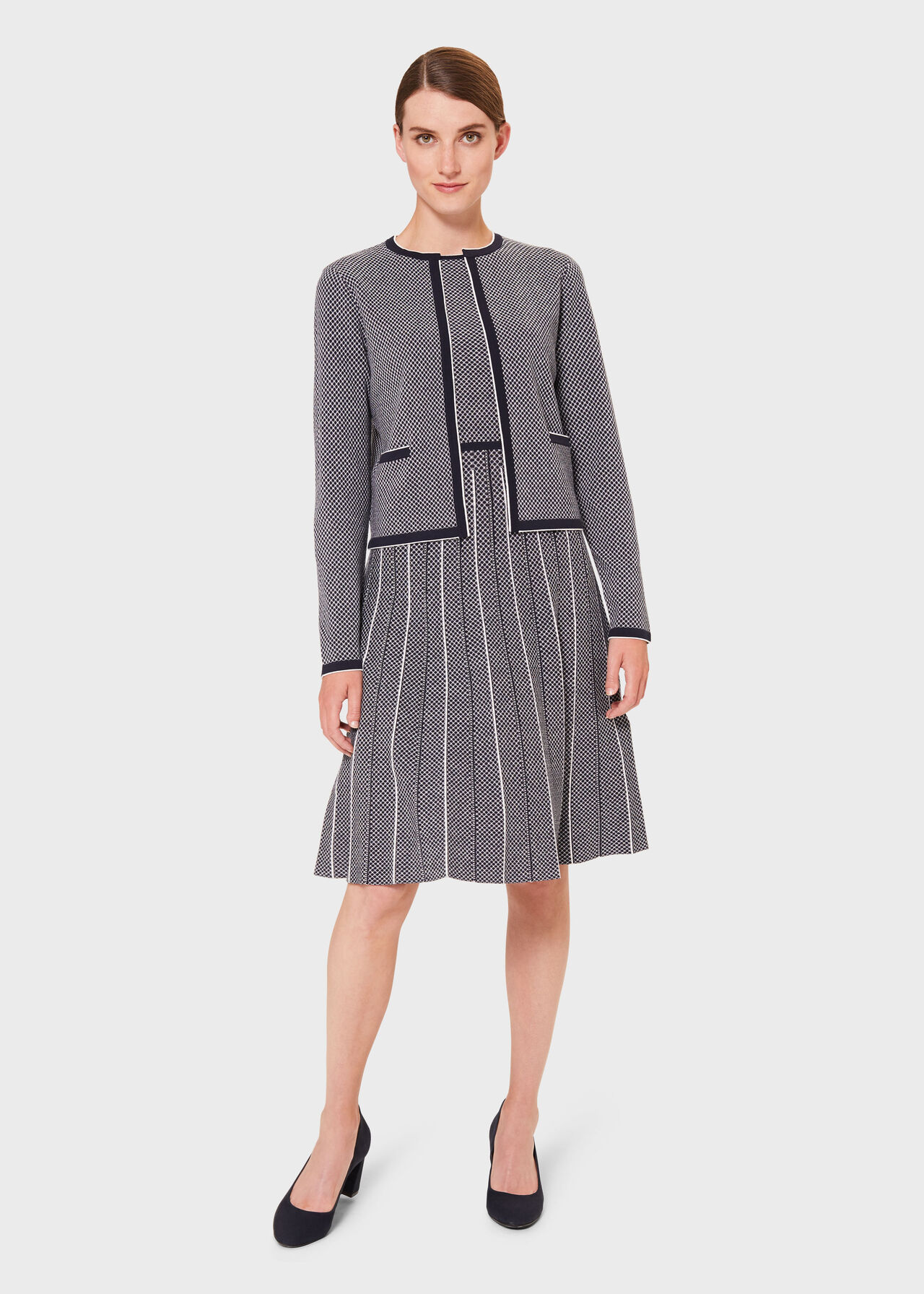 Sophie Co-ord Knitted Dress Suit, , hi-res