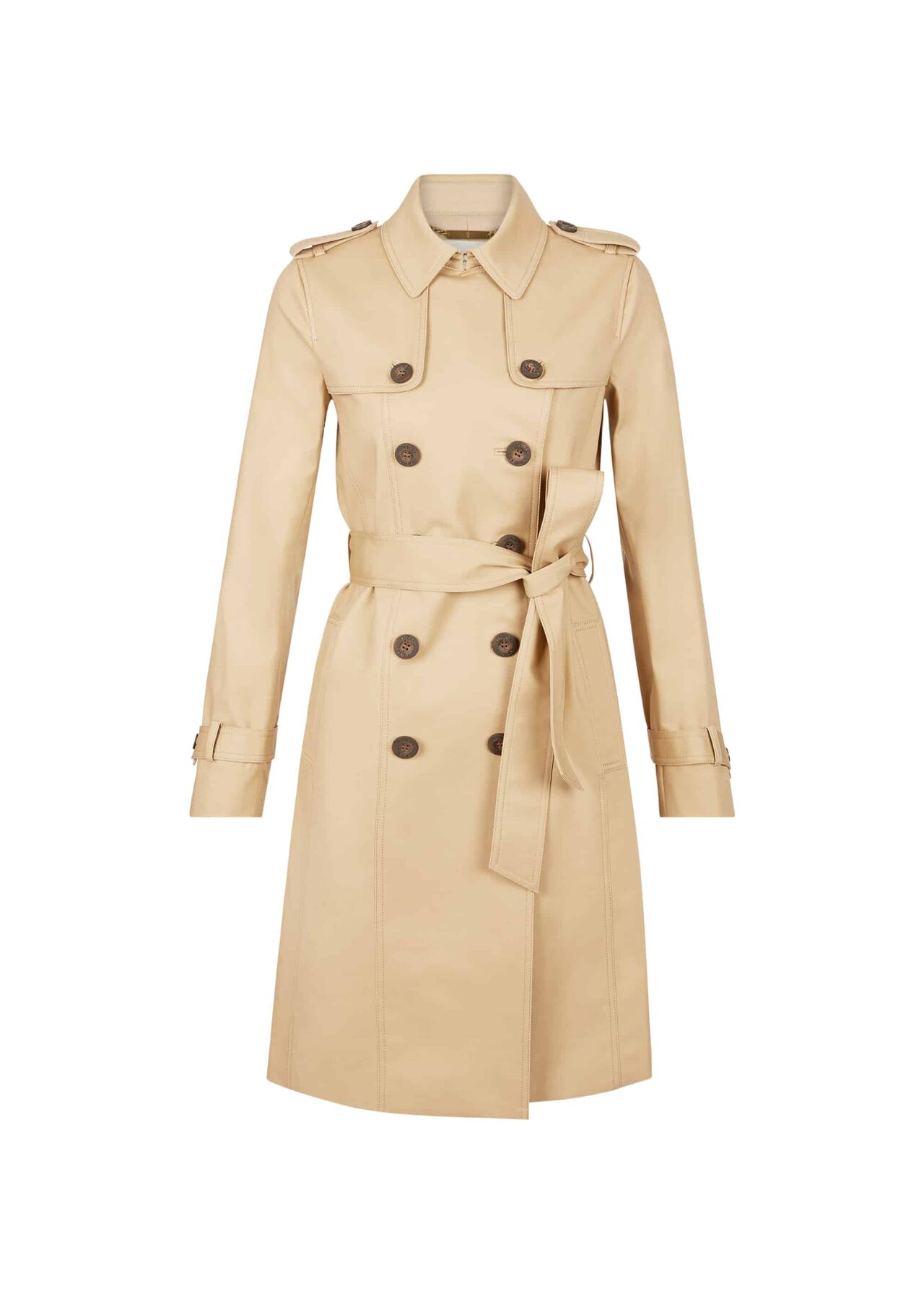 Saskia Trench Coat Mocha