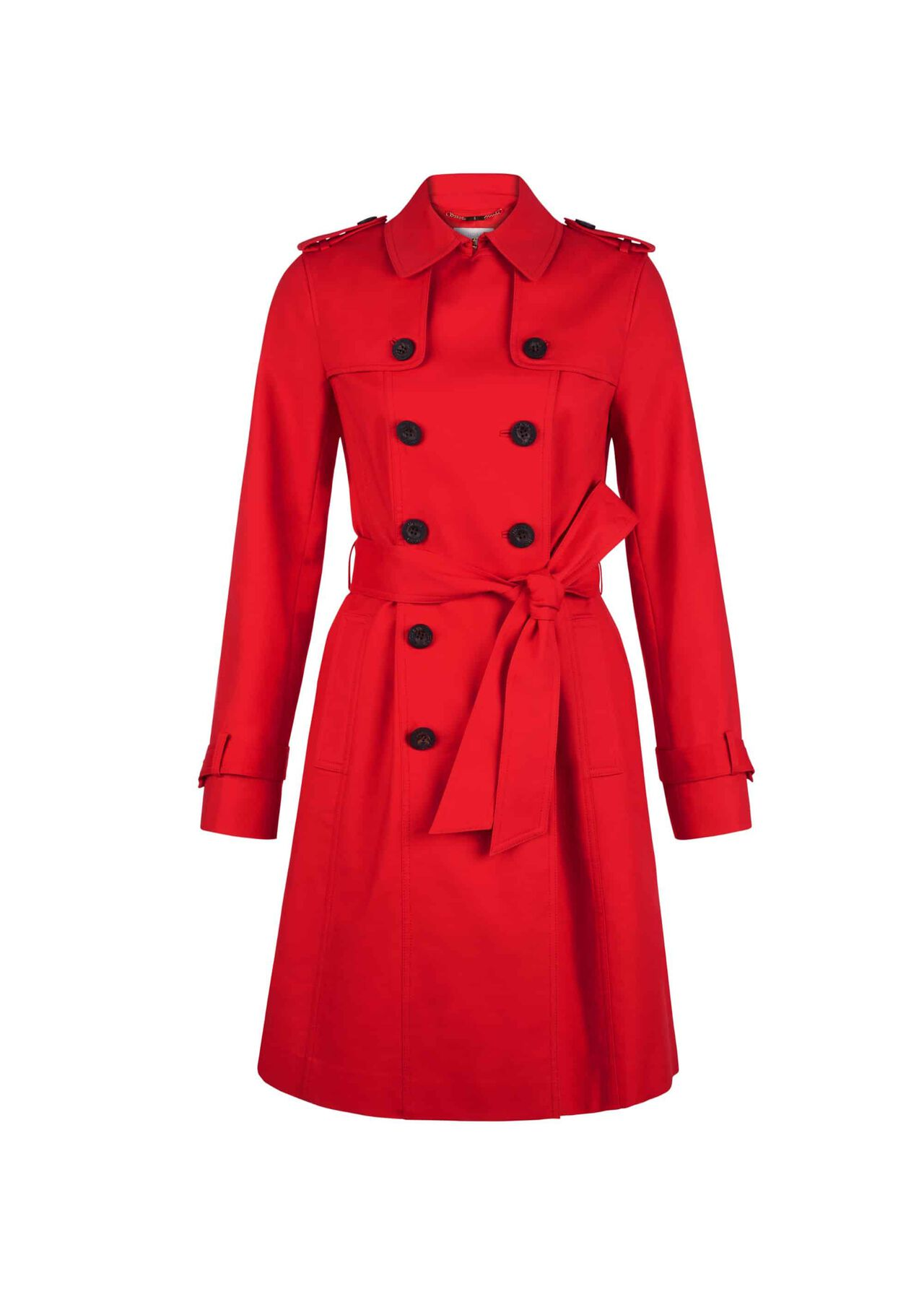 Saskia Trench Red