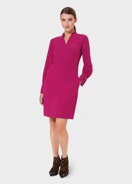 Janie Dress,  Dark Raspberry, hi-res