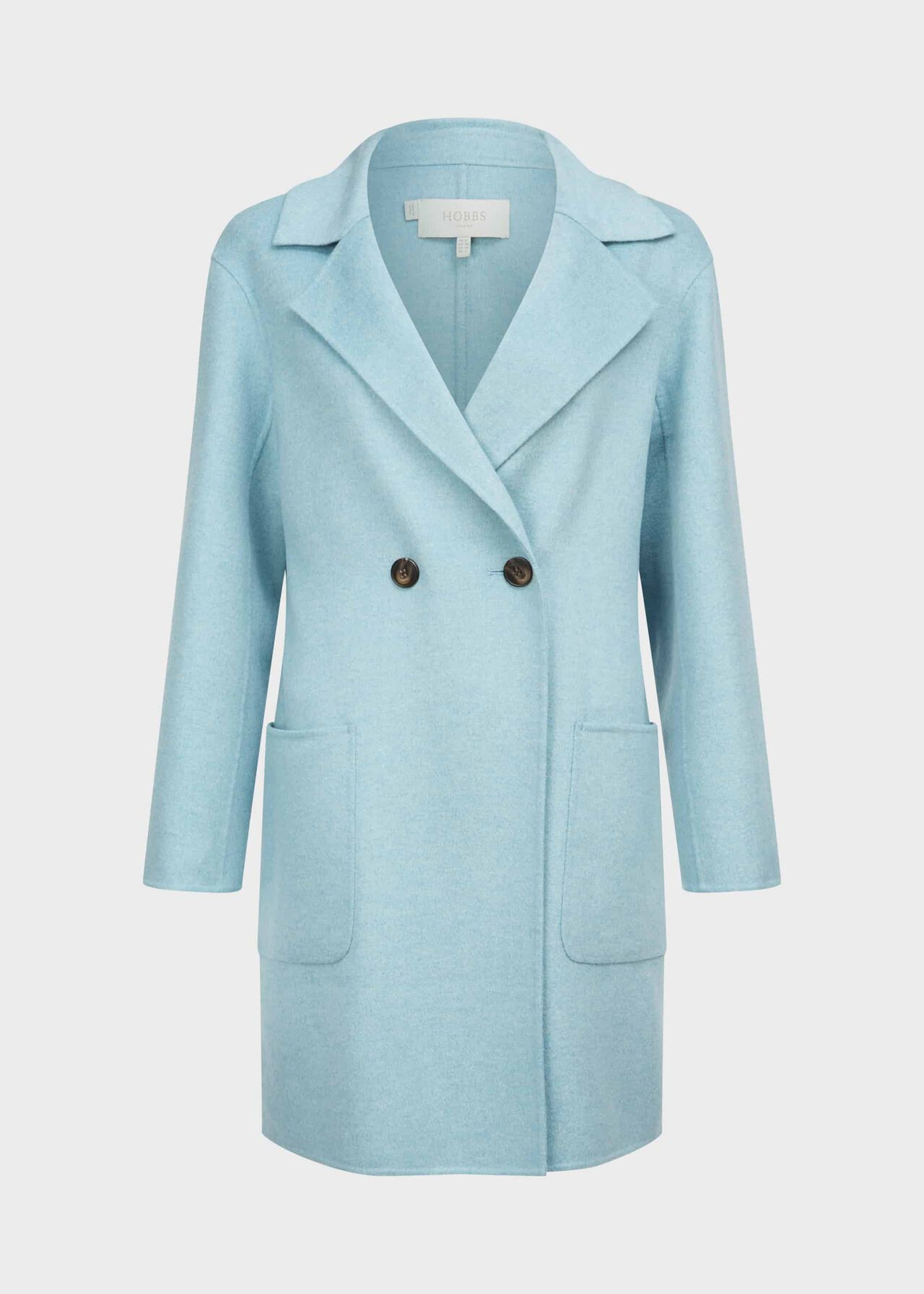 Aly Coat Pale Blue