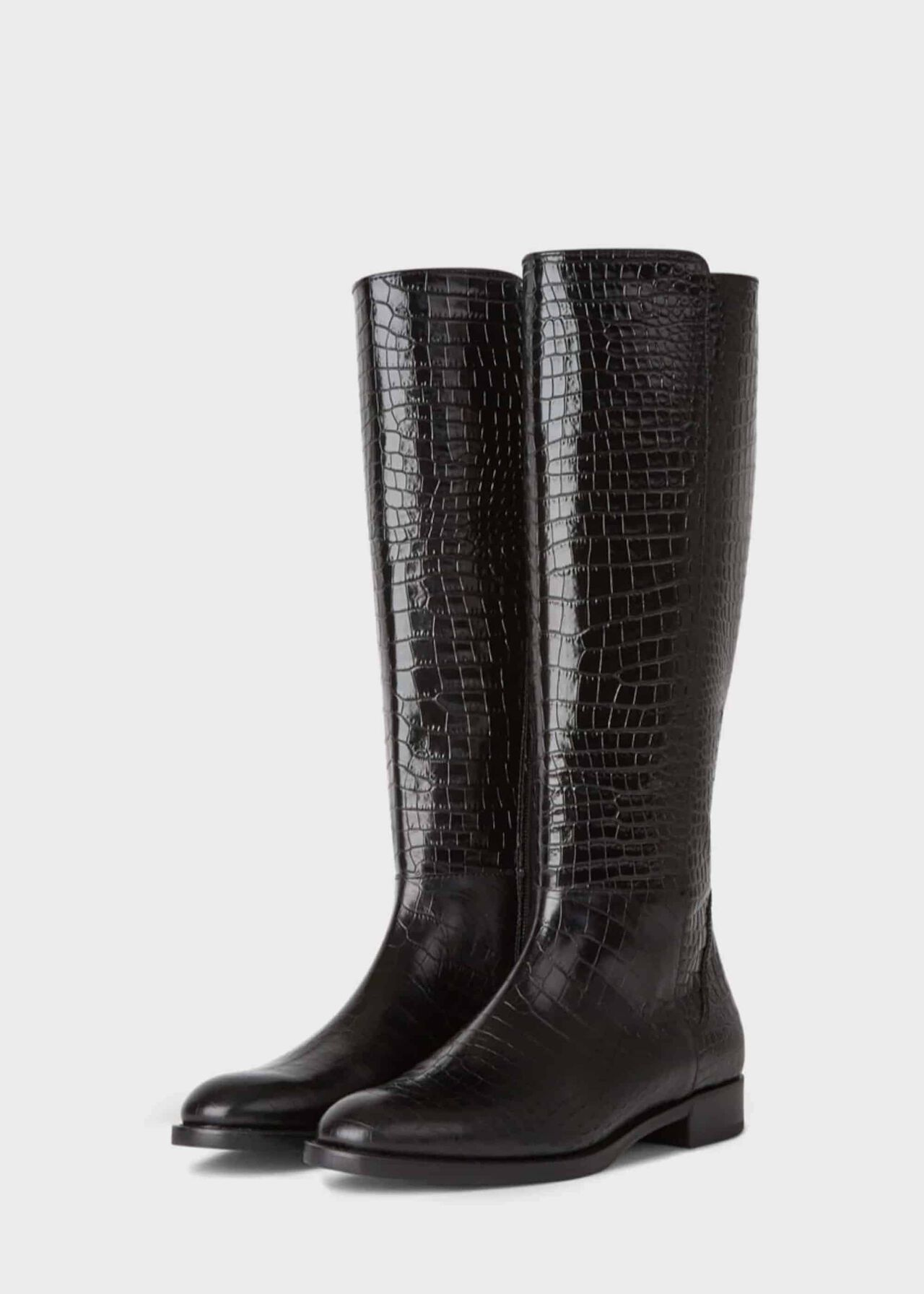 Nicole Long Boot Black