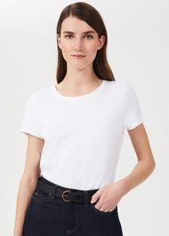 Eliza Leather Belt, Black, hi-res