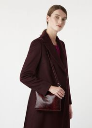 Selby Cross body, Burgundy, hi-res