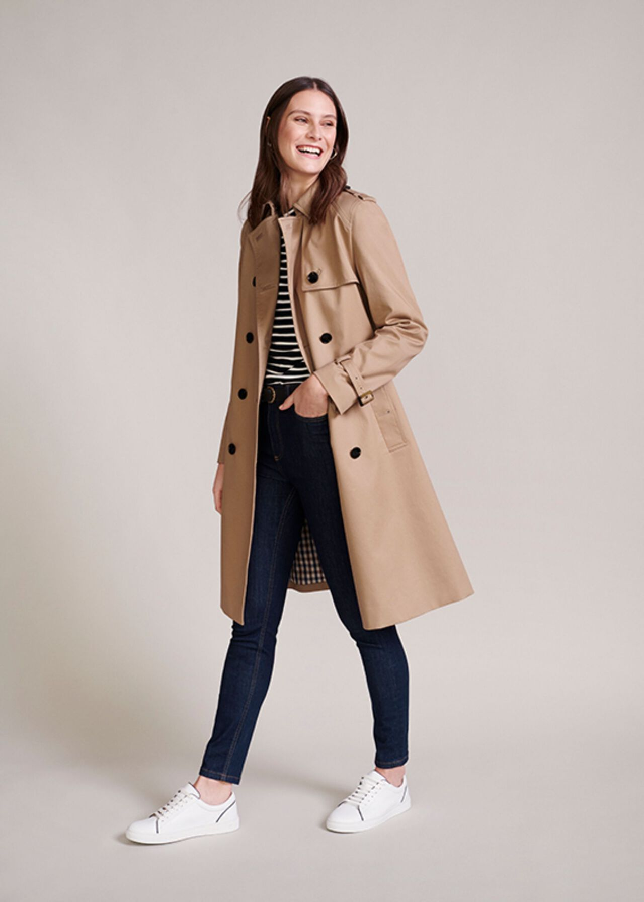 The Finley Trench Coat Outfit, , hi-res