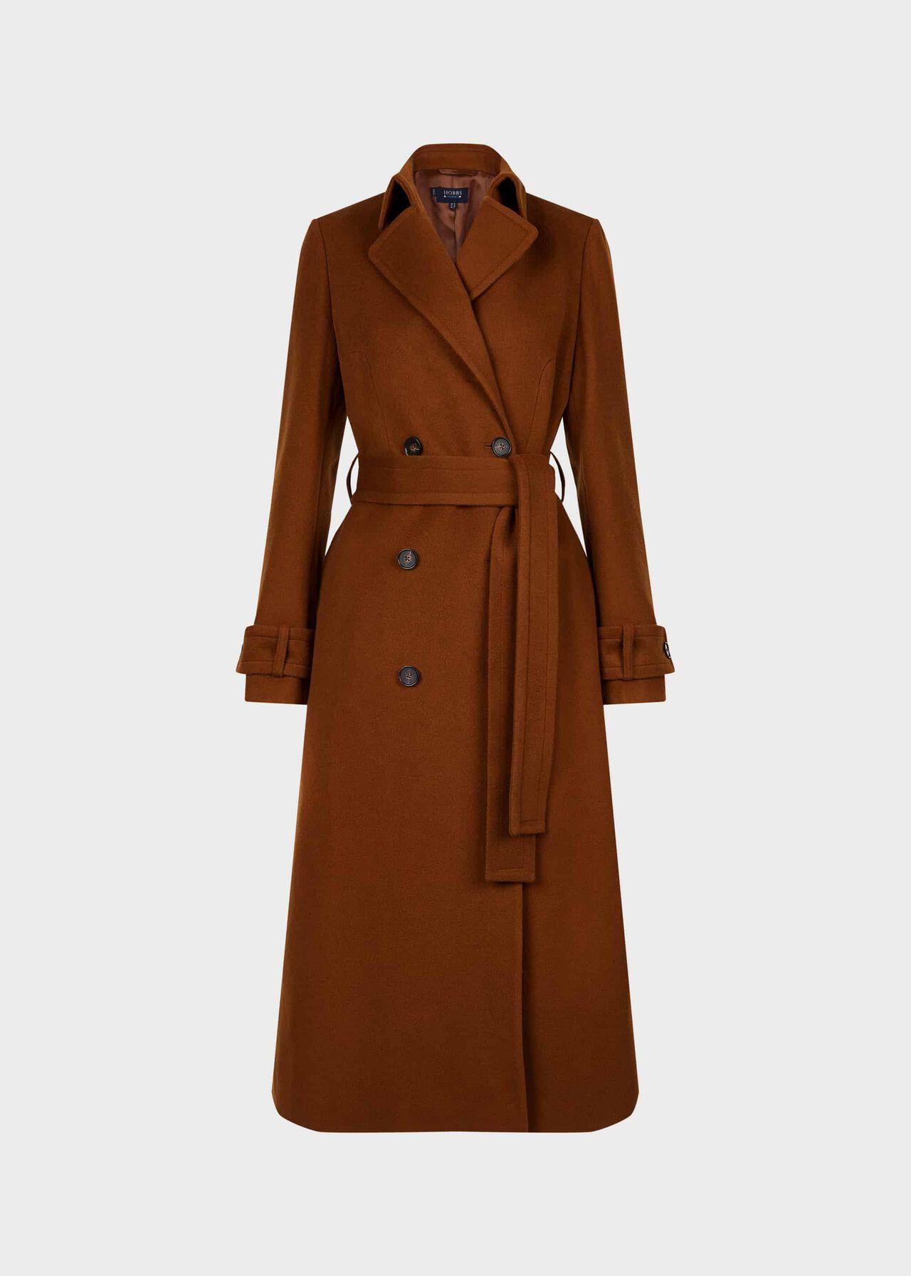 Lori Wool Cashmere Coat Hazelnut