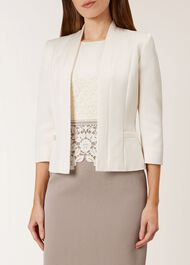 Edie Jacket, Cream, hi-res