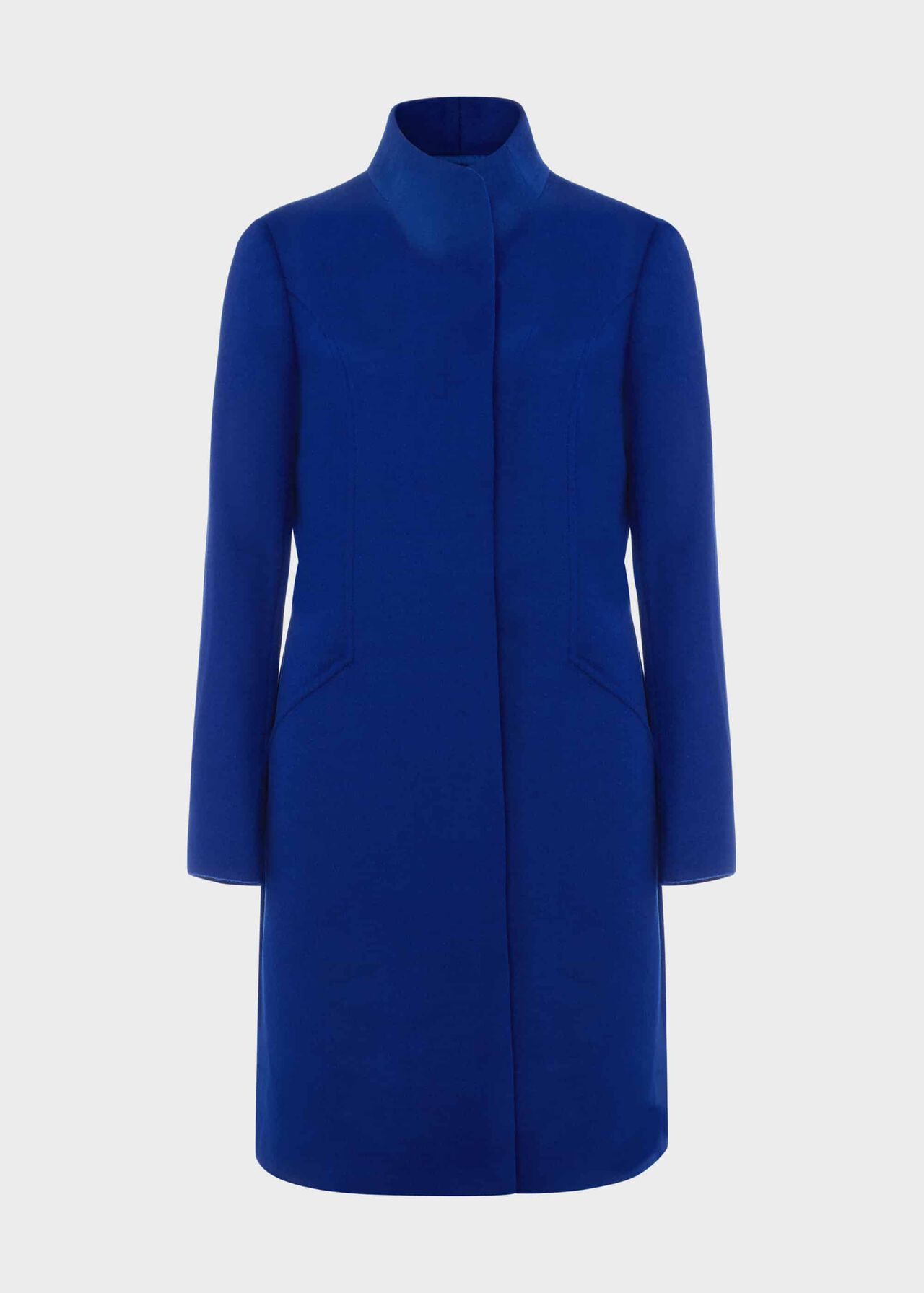 Mandy Wool Coat Cobalt