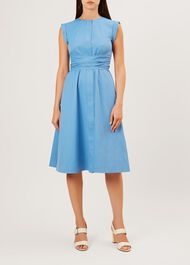 Eloise Dress, Sea Blue, hi-res