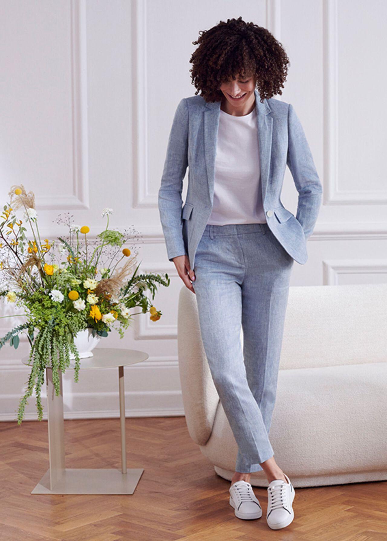 The Ivana Linen Suit Outfit, , hi-res