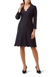 Scarlett Dress, Navy, hi-res