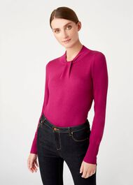 Kelsey Sweater, Orchid Pink, hi-res