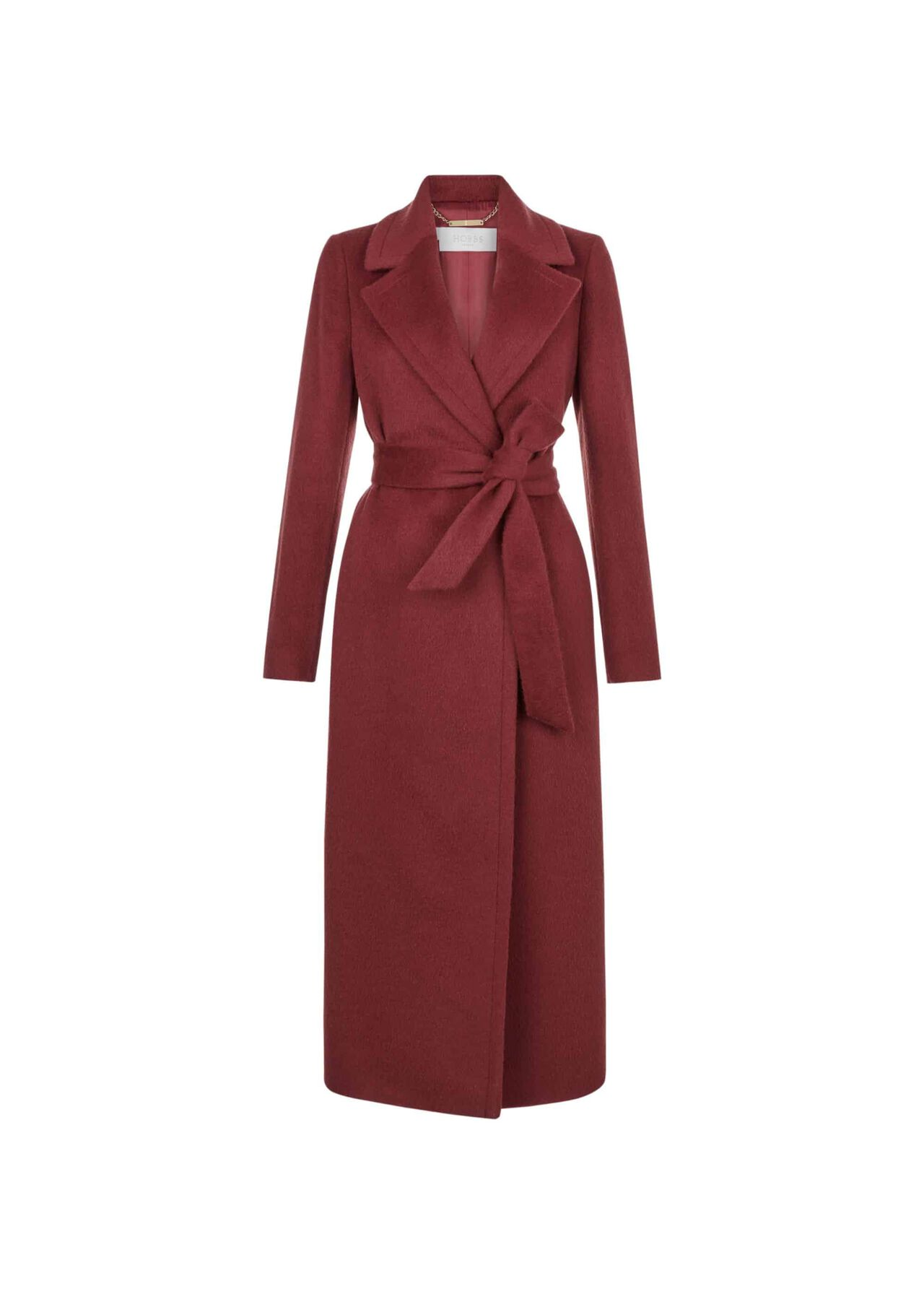 Esther Coat Burgundy