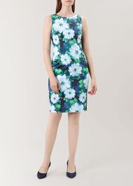 Fiona Dress, Navy Multi, hi-res
