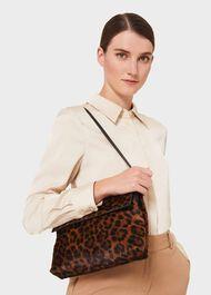 Cheltenham Clutch Bag, Leopard, hi-res