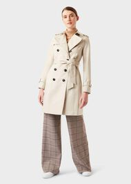 Petite Saskia Trench Coat, New Neutral, hi-res